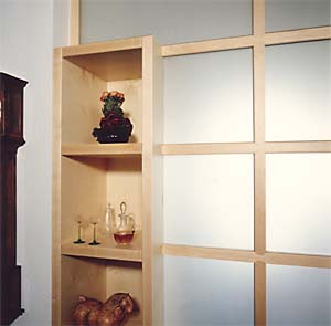 holzdesign norbert hambloch raumteiler. Black Bedroom Furniture Sets. Home Design Ideas